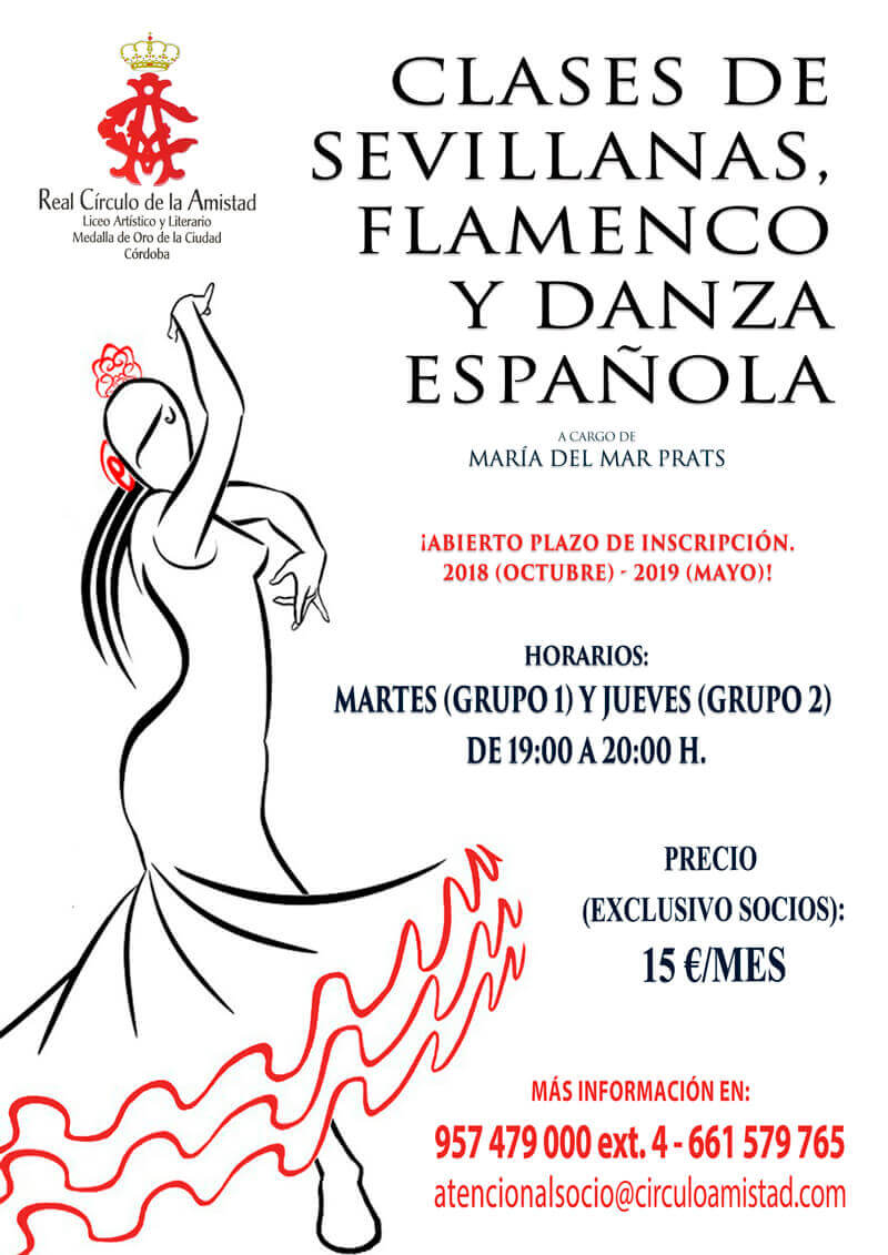 Clases de sevillanas 2018-2019
